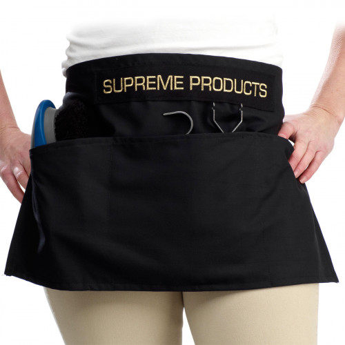 Supreme Products Grooming Apron - Black - Half