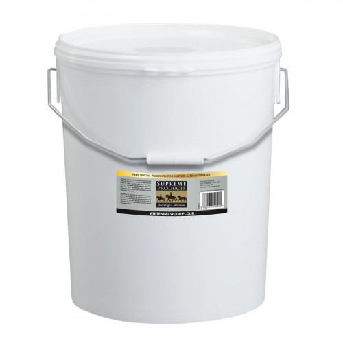 Supreme Products Heritage Collection Whitening Wood Flour - 10kg