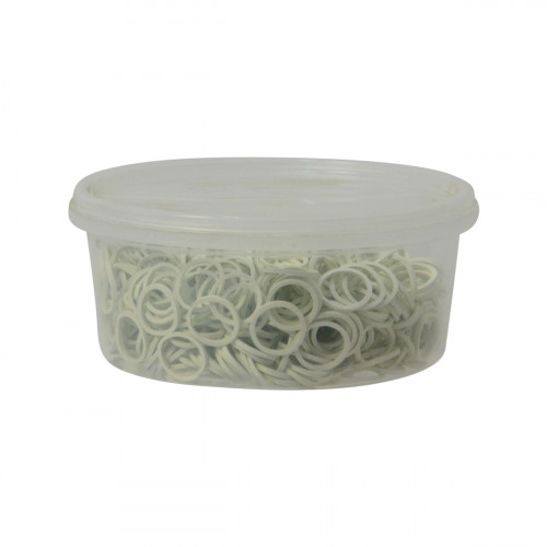 Supreme Products Plaiting Bands - White