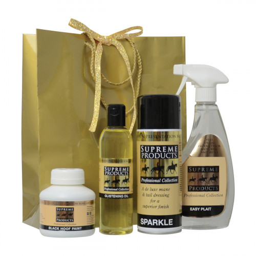 Supreme Products Gold Gift Bag