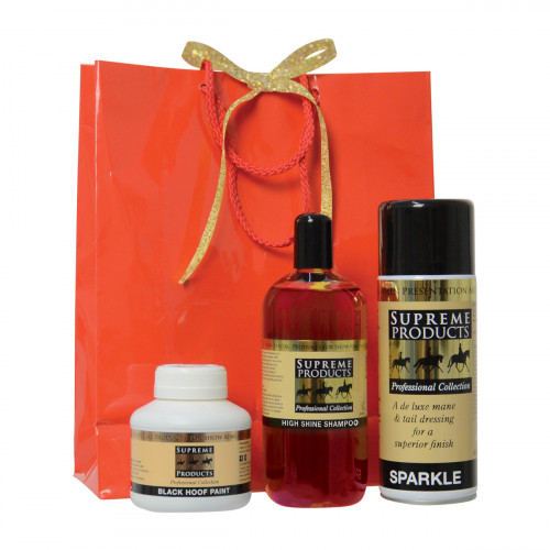 Supreme Products Red Gift Bag - Black Hoof Paint