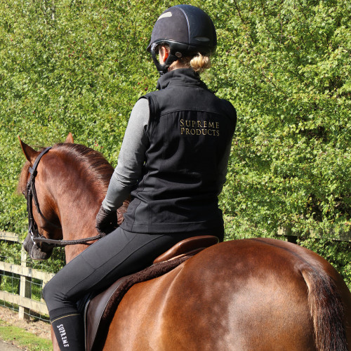 Back shot of Supreme Products Active Show Rider Gilet