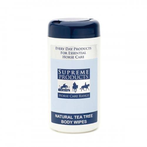 Supreme Products Natural Tea Tree Body Wipes - 100 Wipes