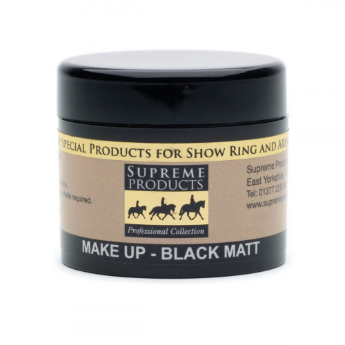 Supreme Products Make Up Black Matt - 50ml