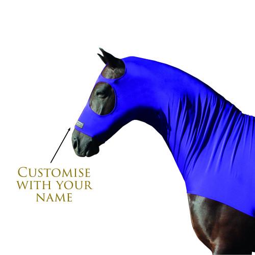 Horse hood embroidery customisation