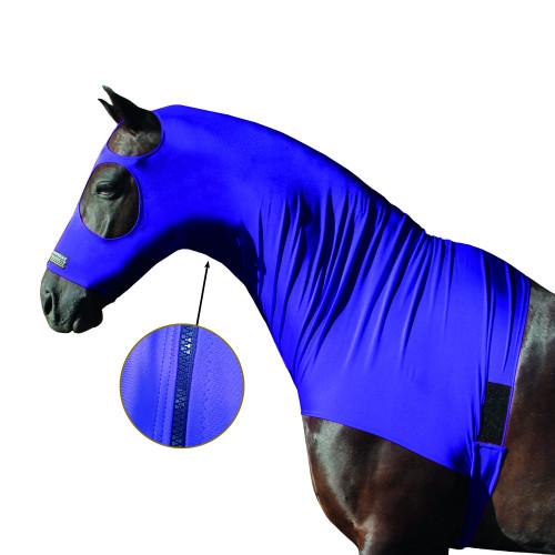 Horse hood zip customisation